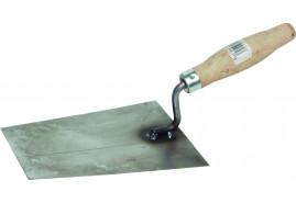 kielnia trapezowa z blachy stalowej czarnej, 160x130