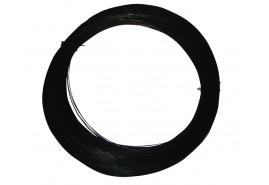 drut czarny 0,80 mm, <br> kręgi 15 kg