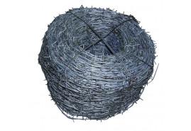 drut kolczasty 2,20 mm, <br> kręgi 15 kg