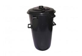 pojemnik na śmieci 110 l plastikowy, okrągły
