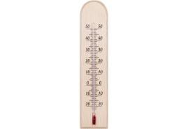 termometr wewnętrzny drewniany  230x50mm