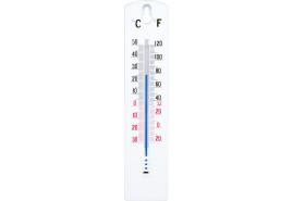termometr zewn./wewn. PVC 43x200 mm