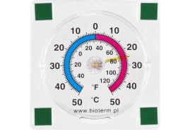 termometr zewnętrzny samoprzylepny 77x77mm