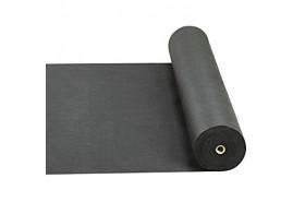 tekstylia nietkana 0,8 x 100m czarna 50g/m2 - rolka