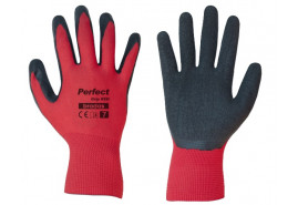 rękawice ochronne 10´ PERFECT GRIP RED