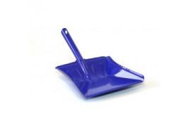 łopatka na śmieci kolorowy lakier niebieski