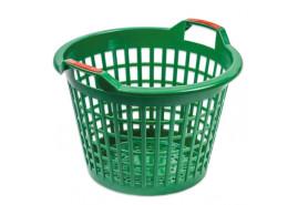 kosz plastikowy 500mm, zielony