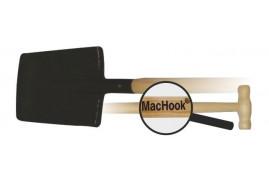 MacHook rydel graniasty z uchwytem T90 czarny