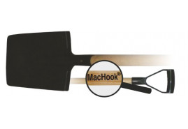MacHook rydel graniasty z uchwytem  PH-Y czarny